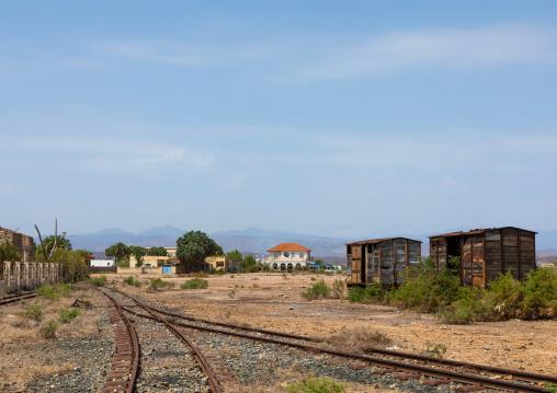 Abandonned railway station, Northern Red Sea, Massawa, Eritrea
