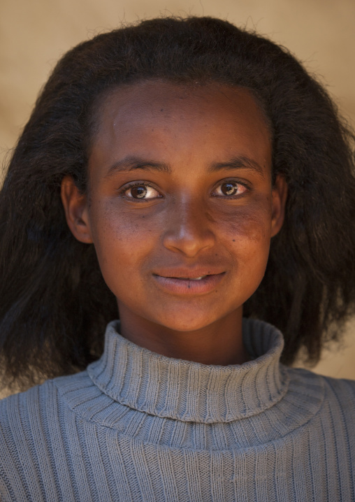 Eritrean Teenager, Debub, Senafe, Eritrea
