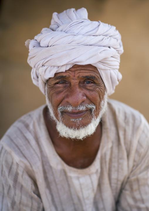 Rashaida Tribe Old Man, Northern Red Sea, Massawa, Eritrea