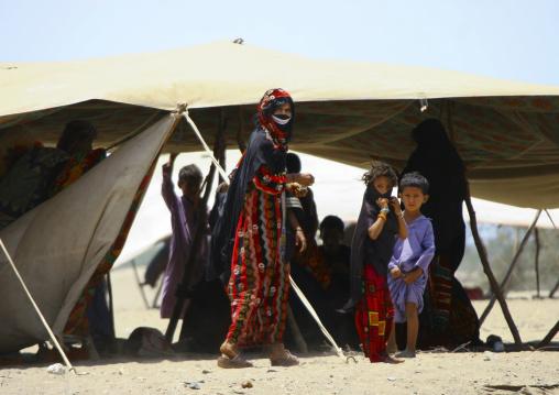 Rashaida Tribe People Near Massawa, Eritrea