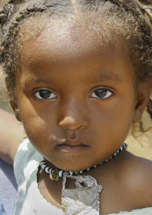 Kunama Tribe Girl, Barentu,  Eritrea