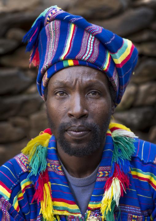 Poqla Kalla Gezahegn Woldedawit Konso King, Konso, Ethiopia