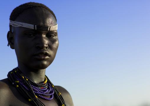 Dassanech Tribe Woman, Omorate, Omo Valley, Ethiopia