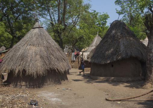Anuak Tribe Traditional Hut, Gambela, Ethiopia