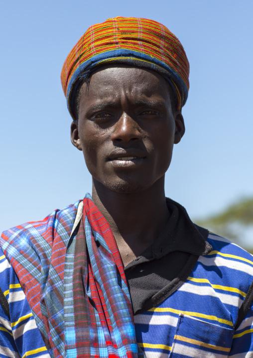 Borana Tribe Man, Ola Alakadjilo, Ethiopia