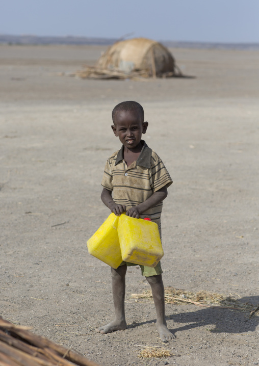 Afar Tribe Boy, Assayta, Ethiopia