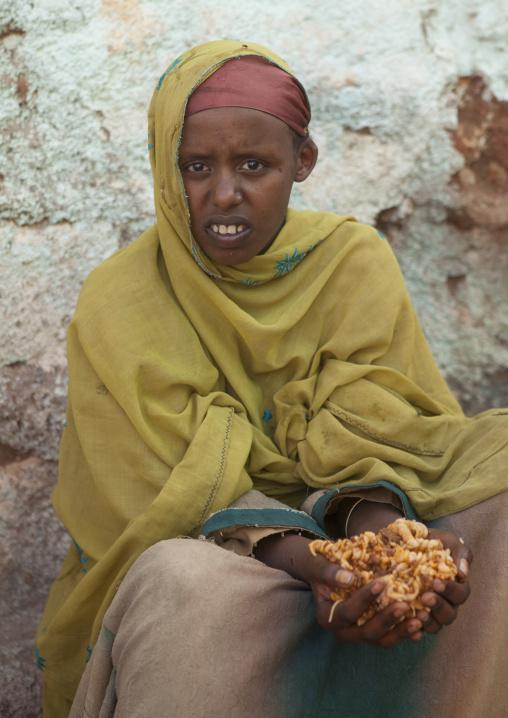Beggar In The Street, Harar, Ethiopia