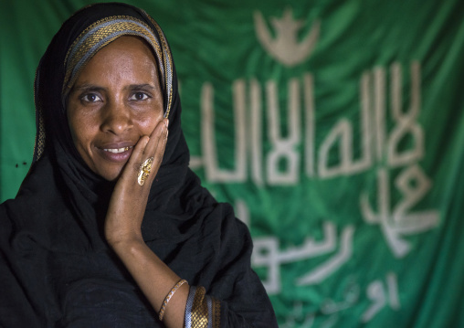 Sufi Woman Worshipper, Harar, Ethiopia