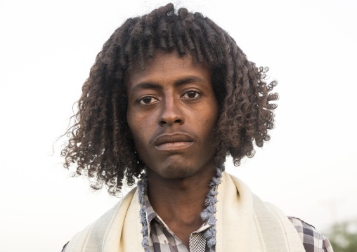 Afar Tribe Man, Afambo, Ethiopia
