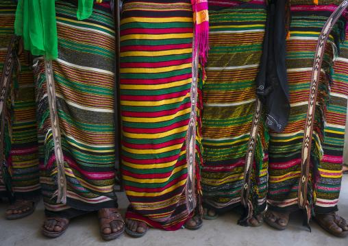 Afar Tribe Women Costumes, Afambo, Ethiopia