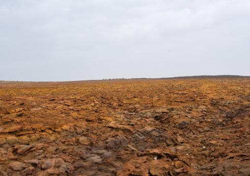Volcanic formations in the danakil depression, Afar region, Dallol, Ethiopia