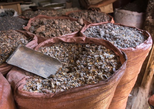 Insence market in the old town, Harari region, Harar, Ethiopia