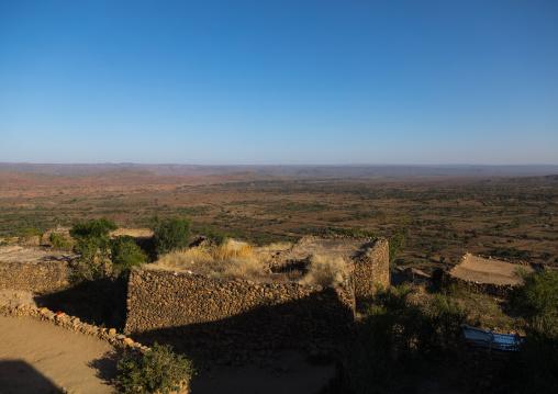 Traditional Argoba stone houses village, Harari Region, Koremi, Ethiopia