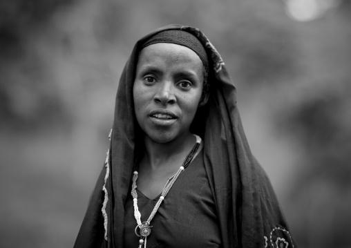 Veiled woman, Ethiopia