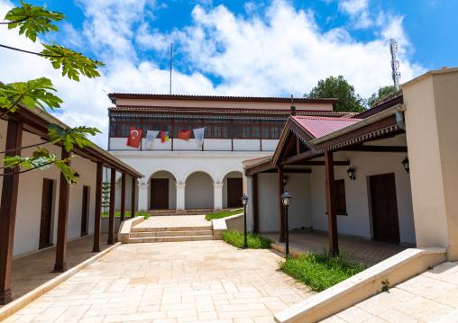 Traditional harari house renovated by the turkish, Harari region, Harar, Ethiopia