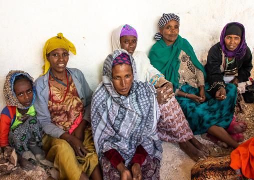 Christian and muslim pilgrims in Sheikh Hussein shrine, Oromia, Sheik Hussein, Ethiopia