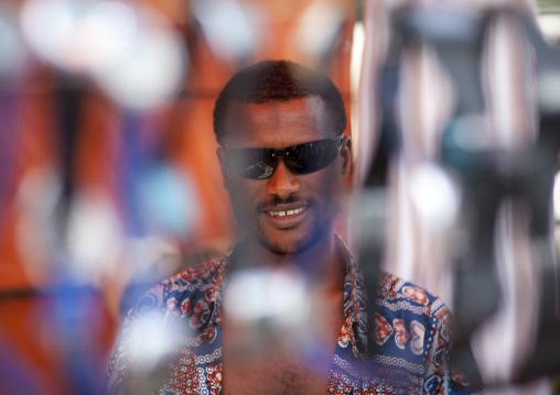 Man wearing sunglasses, Ethiopia