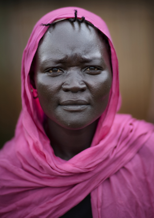 Woman From Majangir Tribe, Village Of Fide, Ethiopia