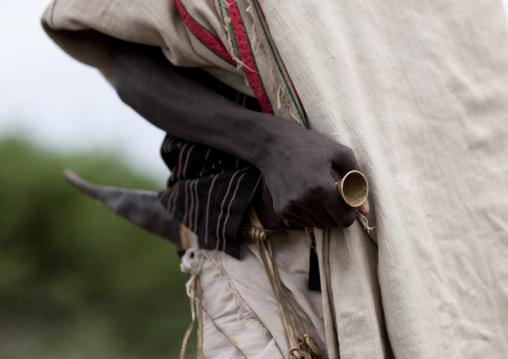 Karrayyu Man Carrying A Gile, Ethiopia