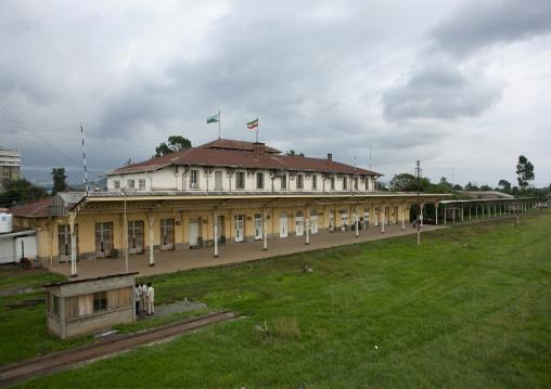 Addis ababa former railway station, Ethiopia
