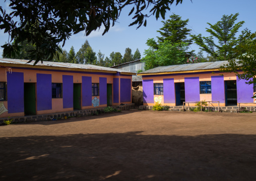 Omo child foundation dormitory, Omo valley, Jinka, Ethiopia