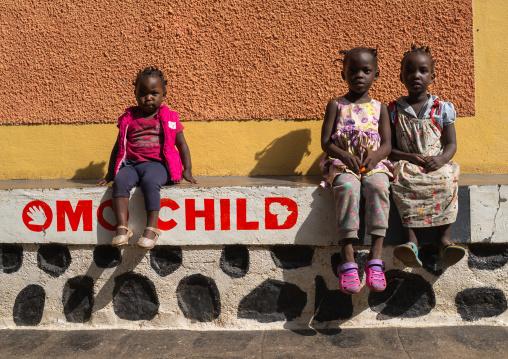 Mingi children in Omo child foundation, Omo valley, Jinka, Ethiopia
