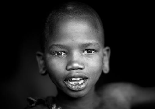Suri tribe boy, Kibish, Omo valley, Ethiopia