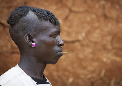 Mr Mouda, Bana Tribe Man, Key Afer, Omo Valley, Ethiopia
