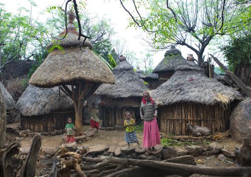 Konso Tribe Village, Omo Valley, Ethiopia