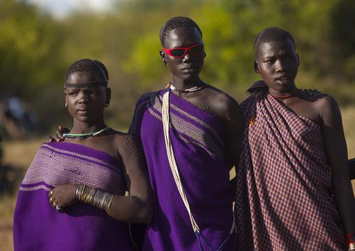 Bodi Tribe Women, Hana Mursi, Omo Valley, Ethiopia