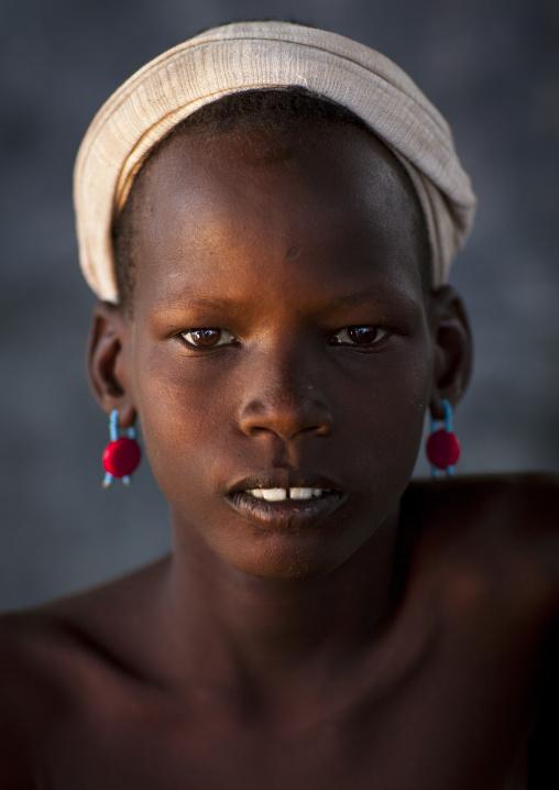 Dassanech Tribe Boy, Omorate, Omo Valley, Ethiopia