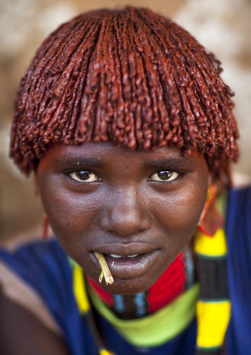 Bana Tribe Woman, Dimeka, Omo Valley, Ethiopia
