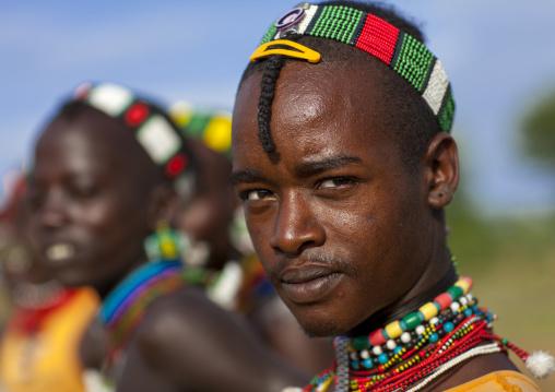 Bashada Tribe Man, Dimeka, Omo Valley, Ethiopia