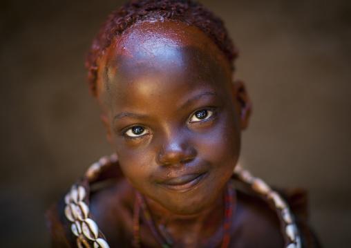 Hamer Tribe Girl, Turmi, Omo Valley, Ethiopia