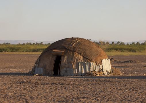 Traditional afar tribe house, Assaita, Afar regional state, Ethiopia