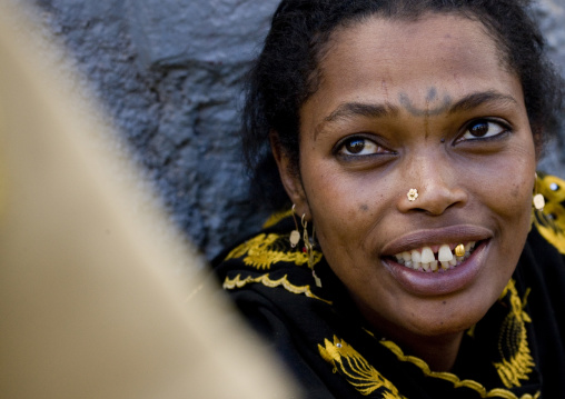 Woman With Tattoos, Harar, Ethiopia
