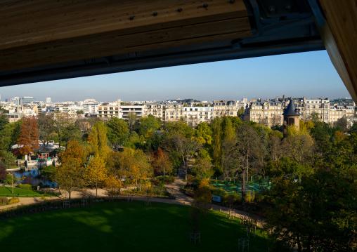 Bois De Boulogne View From Louis Vuitton Foundation, Bois De Boulogne, Paris, France