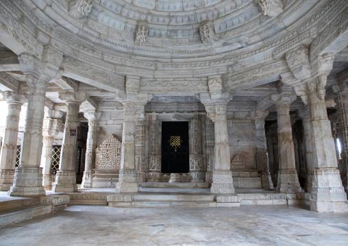 Jain Tirthankar marble temple, Rajasthan, Ranakpur, India