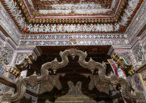 Patwa haveli decoration, Rajasthan, Jaisalmer, India
