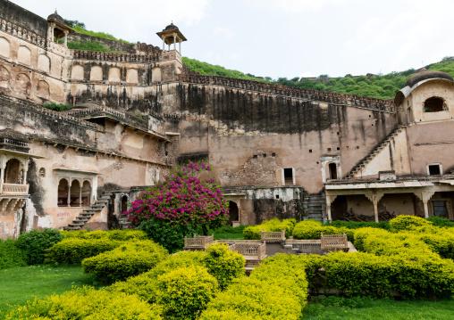 Garden in Taragarh fort, Rajasthan, Bundi, India