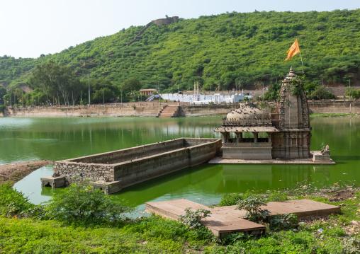 Lake nawal sagar, Rajasthan, Bundi, India