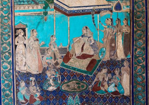Taragarh fort murals, Rajasthan, Bundi, India