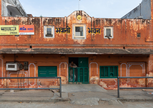Old historic building, Rajasthan, Jaipur, India