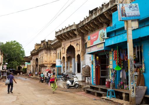 Old historic havelis, Rajasthan, Nawalgarh, India