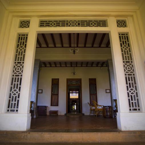 Lobby At The Entrance Of The Visalam Hotel, Kanadukathan Chettinad, India