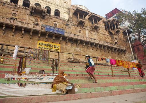 manmandir ghat, Varanasi, India