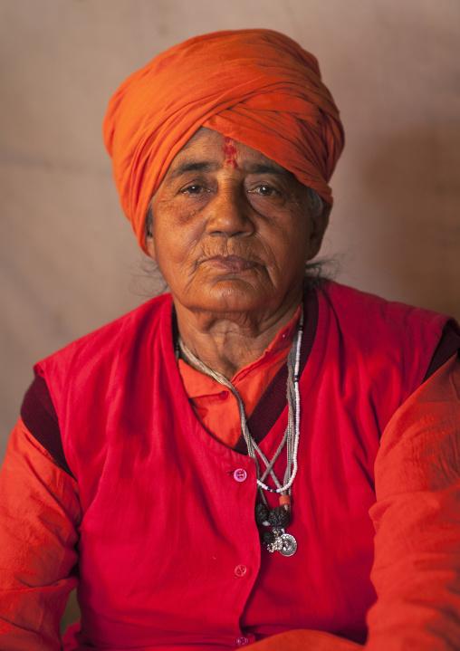Sadhu Woman, Maha Kumbh Mela, Allahabad, India