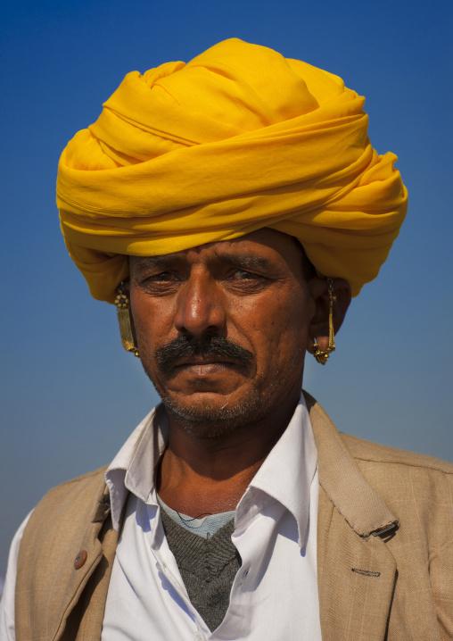 Rajasthan Man, Maha Kumbh Mela, Allahabad, India