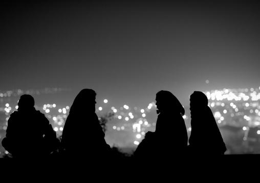 Women Over The Town, Maha Kumbh Mela, Allahabad, India