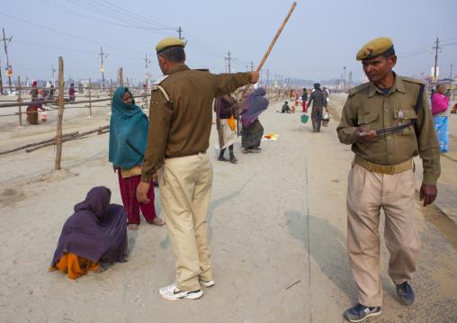 Police, Maha Kumbh Mela, Allahabad, India